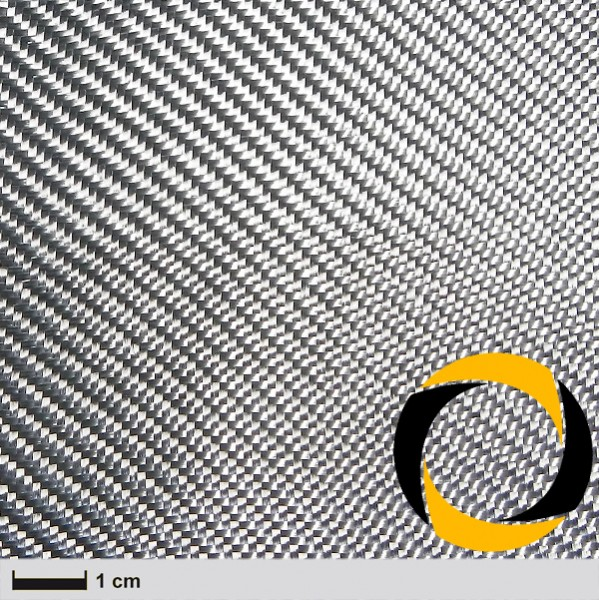 Design-Glasgewebe 300 g/m² (KP, Silber) 102 cm wie Alutex